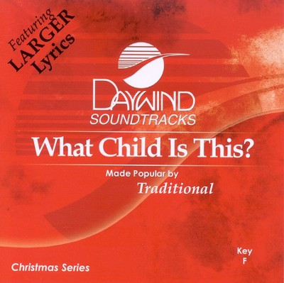 What Child Is This? Accompaniment CD   -