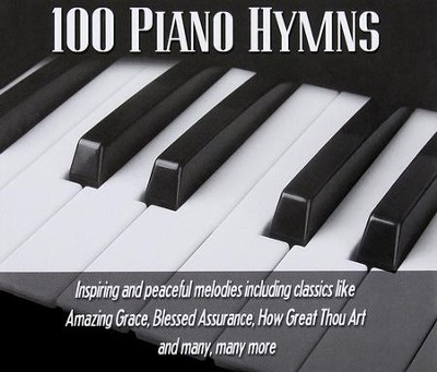100 Piano Hymns (3 CDs)   -
