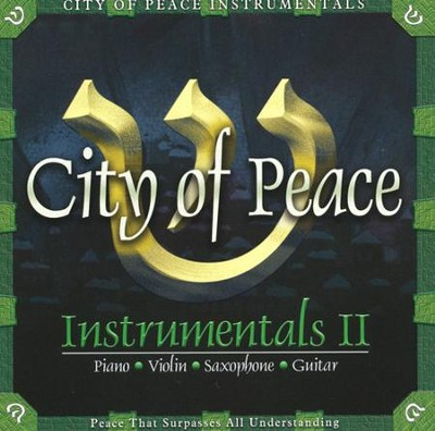 City of Peace Instrumentals II, CD   -