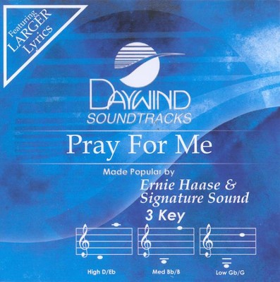 Pray For Me, Accompaniment CD   -     By: Signature Sound