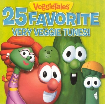 VeggieTales 25 Favorite Very Veggie Tunes! CD   -