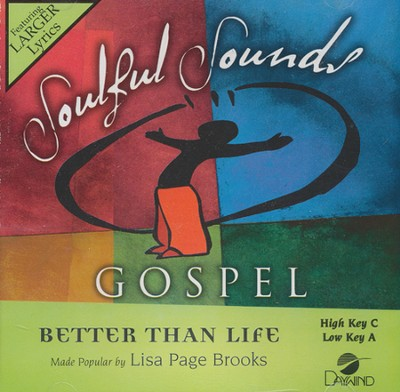 Better Than Life Acc, CD  -     By: Lisa Page Brooks