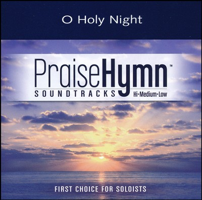 O Holy Night, Accompaniment CD   -