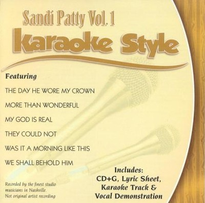 Sandi Patty, Volume 1, Karaoke Style CD   -