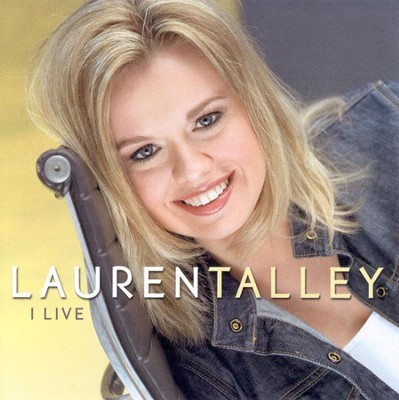I Live CD   -     By: Lauren Talley