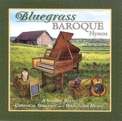 Bluegrass Baroque Hymns CD   -     By: Phillip Keveren