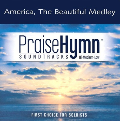 America the Beautiful Medley, Accompaniment CD   -