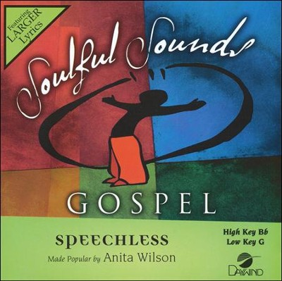 Speechless, Acc CD   -     By: Anita Wilson
