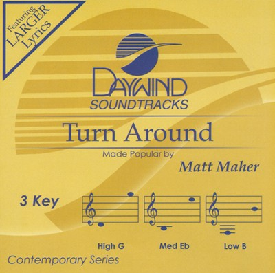 Turn Around, Acc CD   -     By: Matt Maher