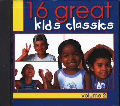 16 Great Kids Classics, Volume 2 CD   -