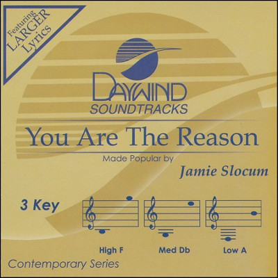 You Are the Reason Acc, CD  -     By: Jamie Slocum