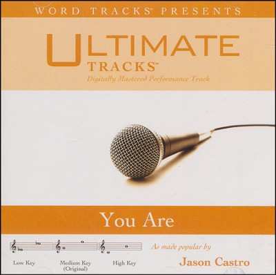 Ultimate Tracks -You Are - As Made Popular By Jason Castro [Performance Track]  [Music Download] -     By: Jason Castro