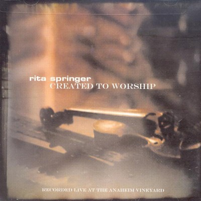 Created to Worship, Compact Disc (CD)   -     By: Rita Springer