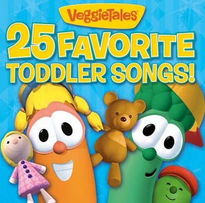 VeggieTales 25 Favorite Toddler Songs CD   -