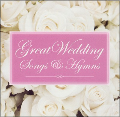 Great Wedding Songs and Hymns CD  -