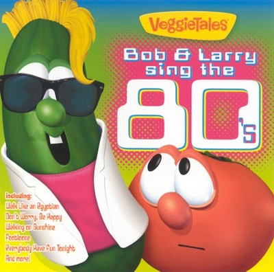 VeggieTales Bob & Larry Sing the 80's CD   -     By: VeggieTales