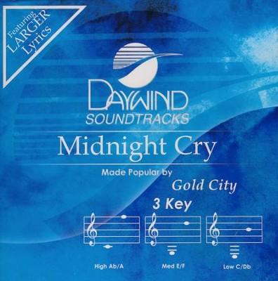 Midnight Cry, Acc CD   -     By: Gold City
