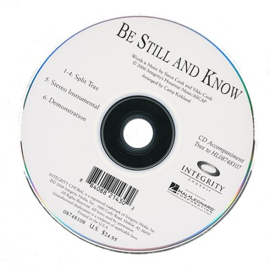 Be Still and Know CD-TRAX   -