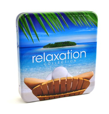 Relaxation Collection, 4 CD Tin   -