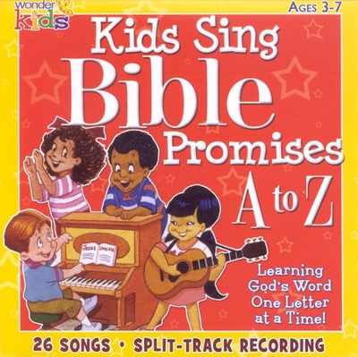 Kids Sing Bible Promises A to Z CD   -