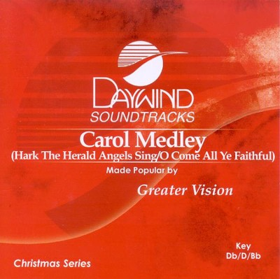 Carol Medley, Accompaniment CD   -     By: Greater Vision