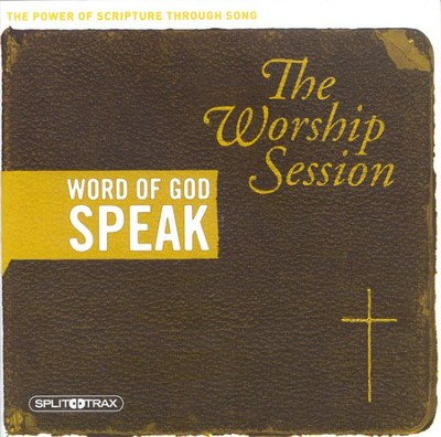 Word of God Speak: The Worship Session CD Trax   -
