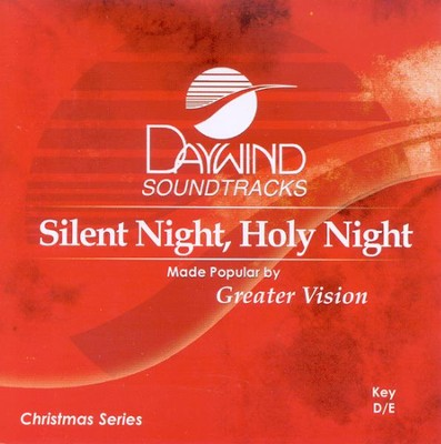 Silent Night, Holy Night, Accompaniment CD   -     By: Greater Vision