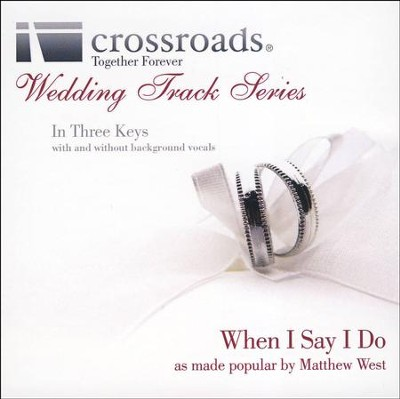 When I Say I Do (Performance Track without Background Vocals in Ab)  [Music Download] -