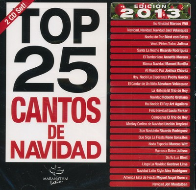 Top 25 Cantos de Navidad CD  -     By: Maranatha! Music