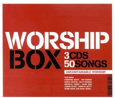 Worship Box: Uncontainable Worship, 3 CDs   -     By: Various Artists