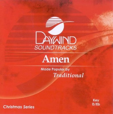 Amen, Accompaniment CD   -