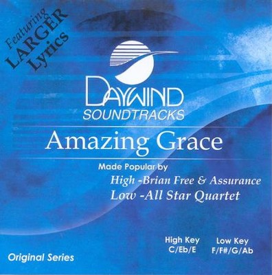 Amazing Grace, Accompaniment CD   -     By: Brian Free & Assurance, All Star Quartet