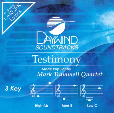 Calvary Medley, Acc CD   -     By: Mark Trammell Quartet