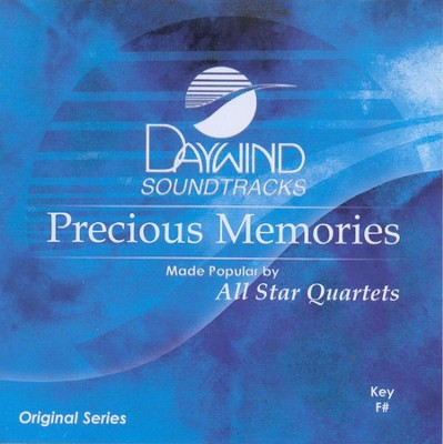 Precious Memories, Accompaniment CD   -     By: All Star Quartet