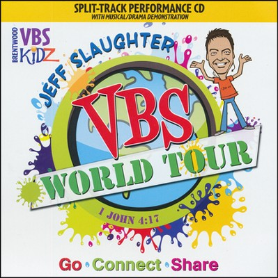 Jeff Slaughter VBS World Tour: VBS Split-Track Accompaniment CD  -     By: Jeff Slaughter