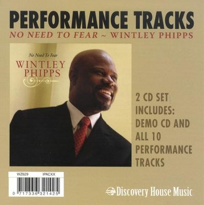 No Need To Fear (CD Trax)   -     By: Wintley Phipps