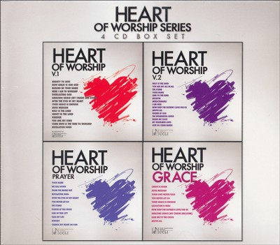 Heart of Worship Series 4 CD Box Set   -     By: Maranatha! Music