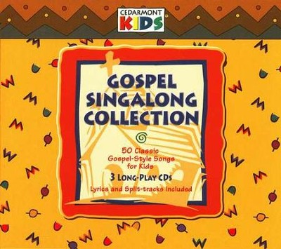 Gospel Singalong Collection, 3 Cedarmont CDs [Compact Disc]   -     By: Cedarmont Kids