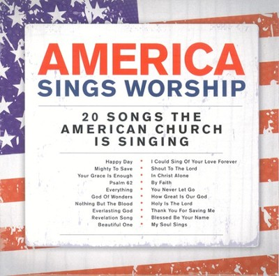 America Sings Worship CD   -