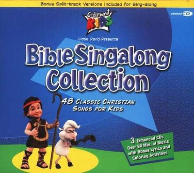 Bible Singalong Collection, 3 Cedarmont CDs [Compact Disc]   -     By: Cedarmont Kids