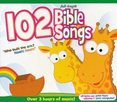 102 Bible Songs (3 CD Set)   -