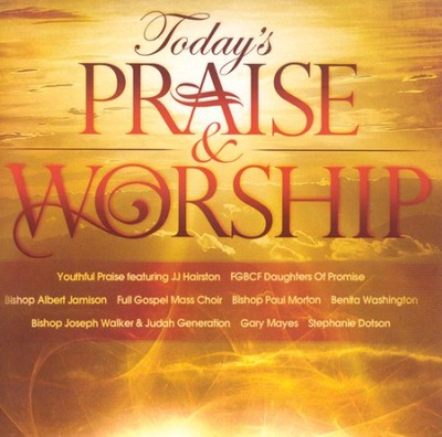 Today's Praise & Worship CD   -     By: Various Artists