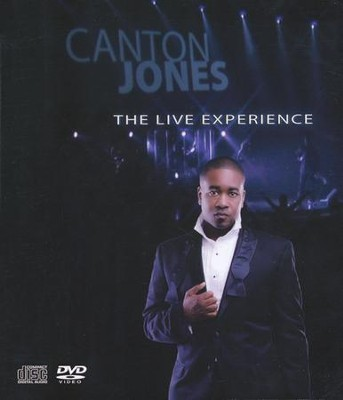 Live Experience 2-Disc Set CD/DVD   -     By: Canton Jones