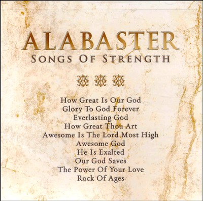 Alabaster: Songs of Strength CD  -