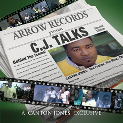 CJ Talks CD+DVD   -     By: Canton Jones