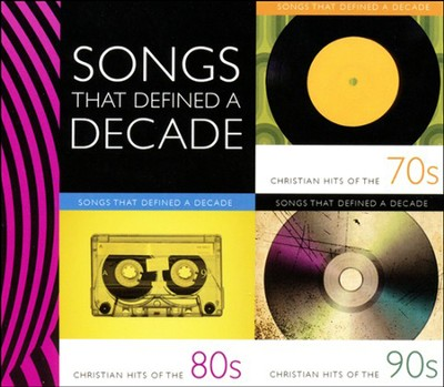 Christian Hits of the 70's, 80,s & 90's 3-CD Box Set   -