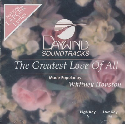 The Greatest Love of All Acc, CD  -     By: Whitney Houston