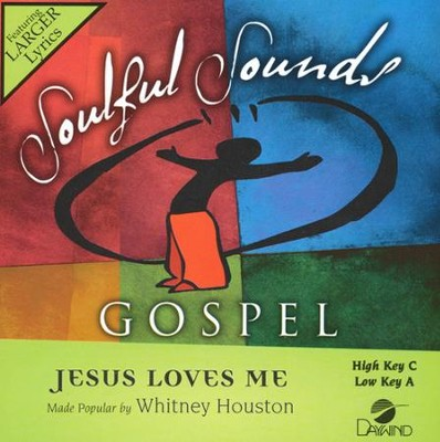 Jesus Loves Me Acc, CD  -     By: Whitney Houston