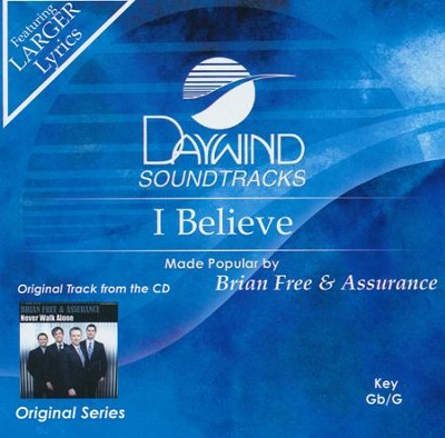 I Believe, Acc CD   -     By: Brian Free