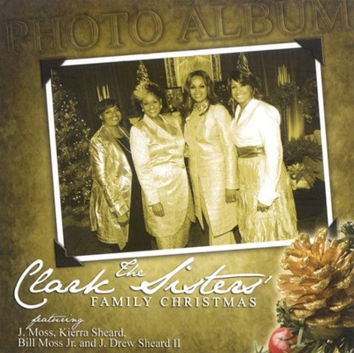 The Clark Sisters' Family Christmas CD   -     By: The Clark Family